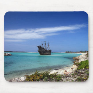 Caribbean Pirate Ship Mouse Pad