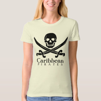 Caribbean Pirates Scull Shirt