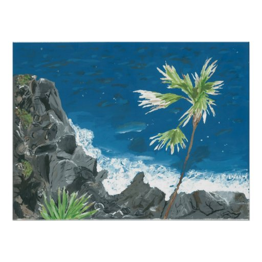 """""""Caribbean"""" Print from Canvas Justice"""