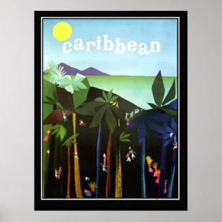 Caribbean Promotion Vintage poster