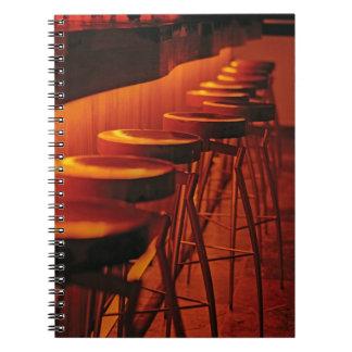 Caribbean, Puerto Rico, San Juan, Water Club Spiral Notebooks