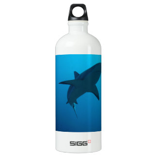 Caribbean Reef Shark Aluminum Water Bottle