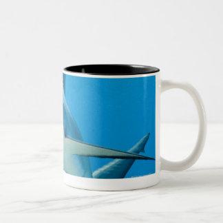 Caribbean reef shark (Carcharhinus perezi) Two-Tone Coffee Mug
