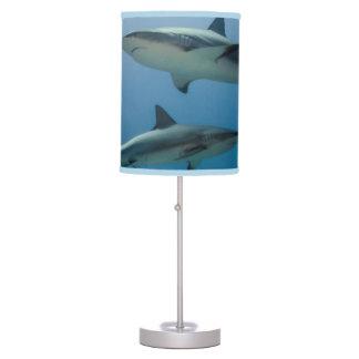 Caribbean Reef Shark Table Lamp
