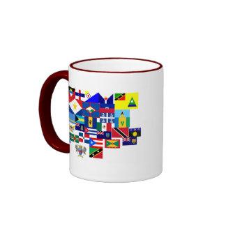 caribbean ringer mug