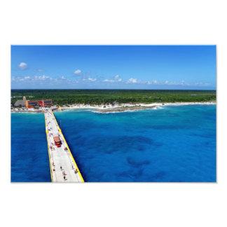 Caribbean Sapphire Photo Print
