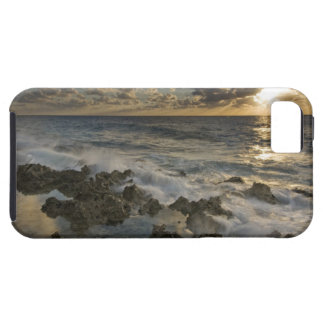 Caribbean Sea, Cayman Islands.  Crashing waves 2 iPhone SE/5/5s Case