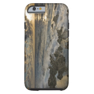 Caribbean Sea, Cayman Islands.  Crashing waves 2 Tough iPhone 6 Case