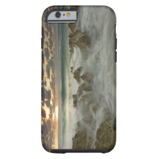 Caribbean Sea, Cayman Islands.  Crashing waves 3 Tough iPhone 6 Case