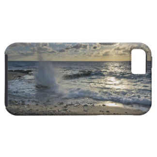 Caribbean Sea, Cayman Islands.  Crashing waves iPhone SE/5/5s Case