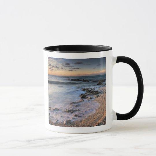 Caribbean Sea, Cayman Islands. Crashing waves Mug
