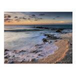 Caribbean Sea, Cayman Islands. Crashing waves Postcard
