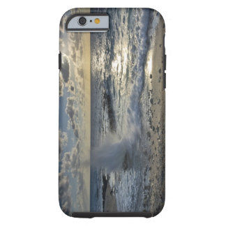 Caribbean Sea, Cayman Islands.  Crashing waves Tough iPhone 6 Case