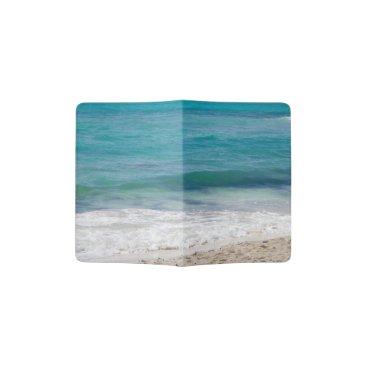Beach Themed Caribbean Sea Passport Holder