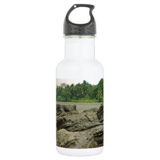 caribbean sea stainless steel water bottle