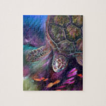 Caribbean Sea Turtles Jigsaw Puzzle