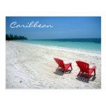 caribbean seats postcards