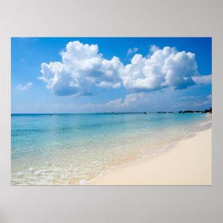 Caribbean - Seven Mile Beach - Cayman Islands Poster