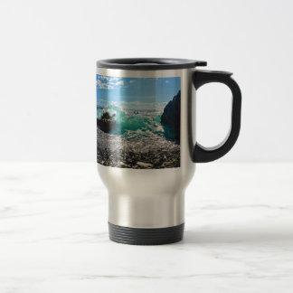 Caribbean Splash Travel Mug