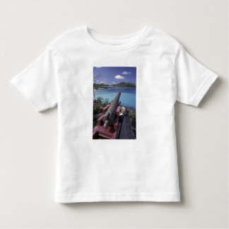 CARIBBEAN, St. Barts, Connon aiming into Bay of Toddler T-shirt