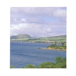 Caribbean, St. Kitts, Roseau. Coast. Notepad