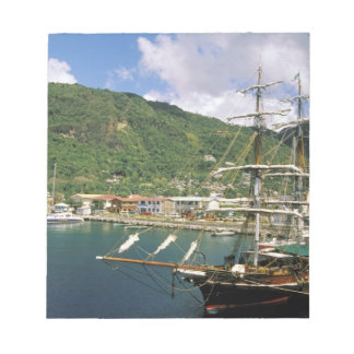 Caribbean, St. Lucia, Soufriere. Boats in Memo Pads