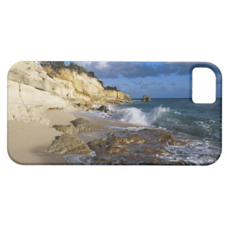 Caribbean, St. Martin, Cliffs at Cupecoy beach iPhone 5 Covers