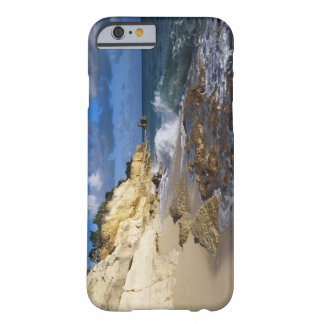 Caribbean, St. Martin, Cliffs at Cupecoy beach Barely There iPhone 6 Case