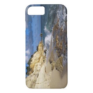 Caribbean, St. Martin, Cliffs at Cupecoy beach iPhone 7 Case