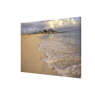 Caribbean, St. Martin (St. Maarten). Maho Bay Canvas Print