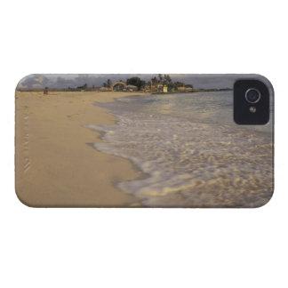 Caribbean, St. Martin (St. Maarten). Maho Bay iPhone 4 Case-Mate Case