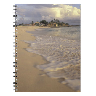 Caribbean, St. Martin (St. Maarten). Maho Bay Notebook