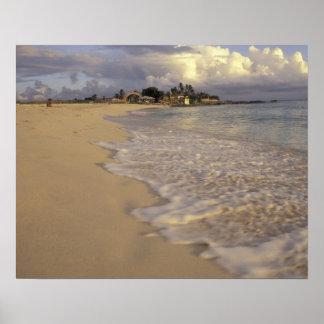 Caribbean, St. Martin (St. Maarten). Maho Bay Poster
