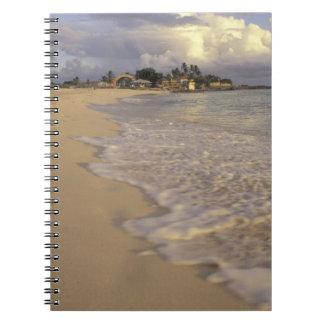 Caribbean, St. Martin (St. Maarten). Maho Bay Spiral Notebook