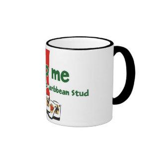 Caribbean Stud Poker Addict's ringer mug