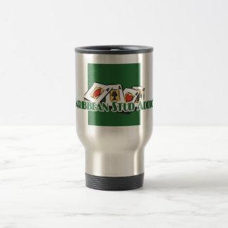 Caribbean Stud Poker Addict's travel mug