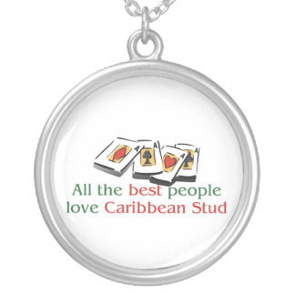 Caribbean Stud Poker Lover's Necklace