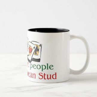 Caribbean Stud Poker Lover's two tone mug