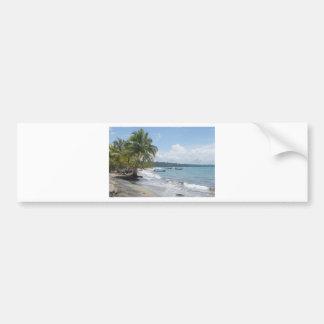 caribbean summer bumper sticker