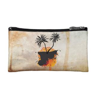 Caribbean Summer Designs Small Cosmetic  Bag