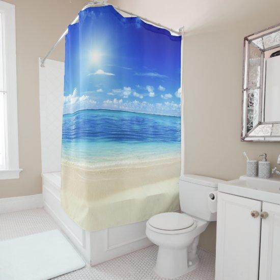Caribbean Summer Dreamz Shower Curtain