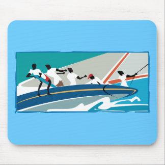 Caribbean Summer Sail Mouse Pad