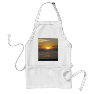 Caribbean Sunrise Adult Apron