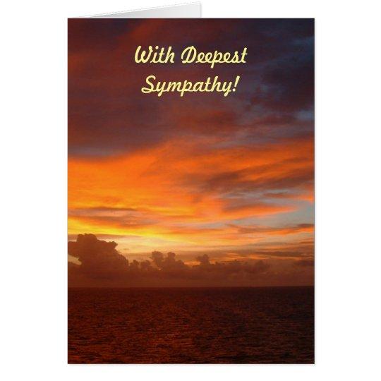Caribbean Sunset, Dreams! Card