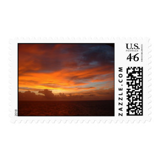 Caribbean, Sunset Dreams, postage stamp