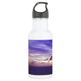 Caribbean Sunset II.JPG Water Bottle