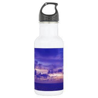 Caribbean Sunset IV.JPG Stainless Steel Water Bottle