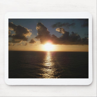 Caribbean Sunset Mouse Pad