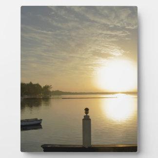 caribbean sunset display plaques
