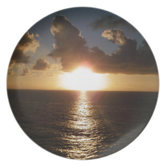 Caribbean Sunset Plate